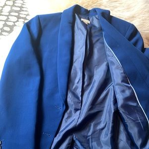 Blue j crew blazer- new without tags